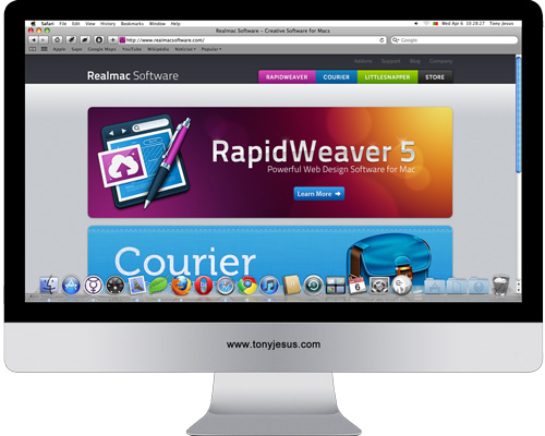 Screenshot of Realmac Software