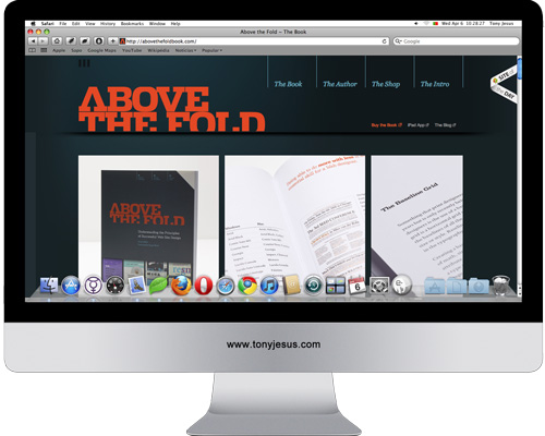 Screenshot of http://abovethefoldbook.com/