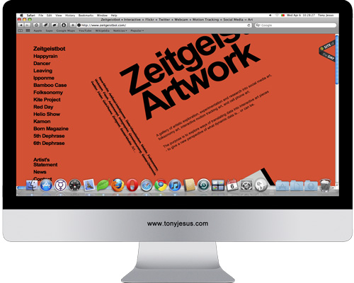 Screenshot of http://www.zeitgeistbot.com/
