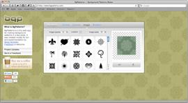 Screenshot of BgPatterns