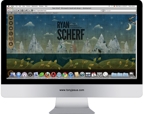 Screenshot of Ryan Scherf