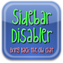 Facebook Sidebar Disabler Logo