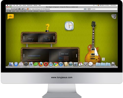 Screenshot of Alex Buga's Livingroom