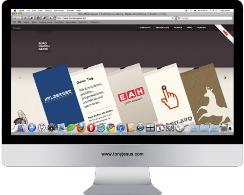 Screenshot of Buro Maisengasse